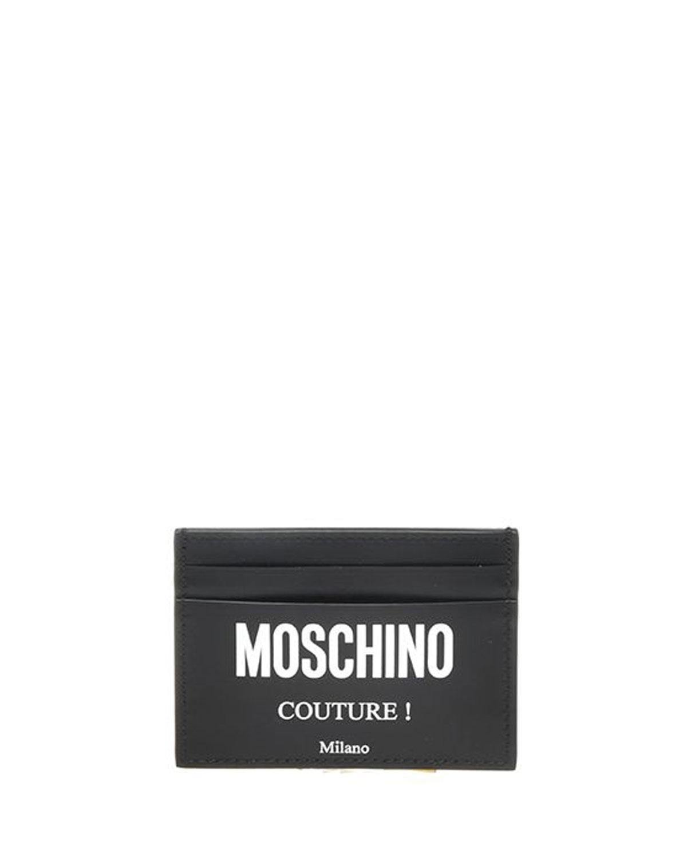 Moschino MEN'S LOGO-PRINT CARD CASE