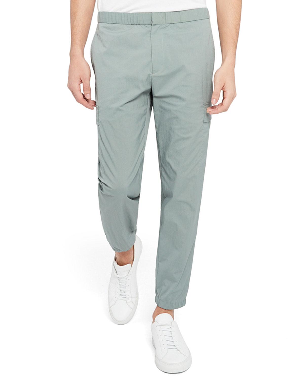 Theory MEN'S KELSO PIQUE ZAINE PANTS