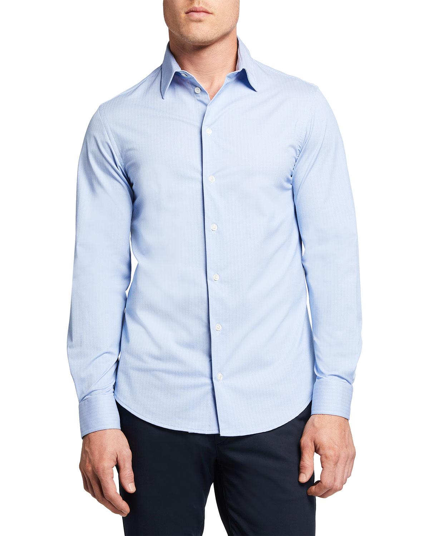 Men's Travel Jersey Micro Sport Shirt