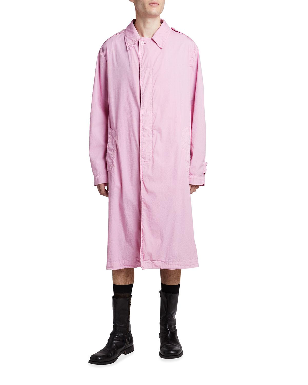 Men's Garment-Dyed Car Coat