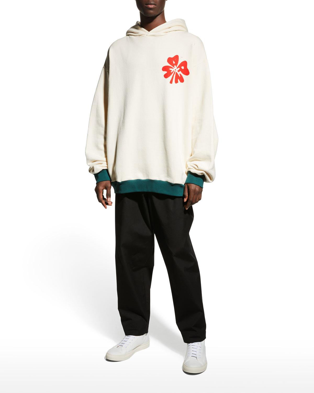 Men's Blooming Graphic Pullover Hoodie