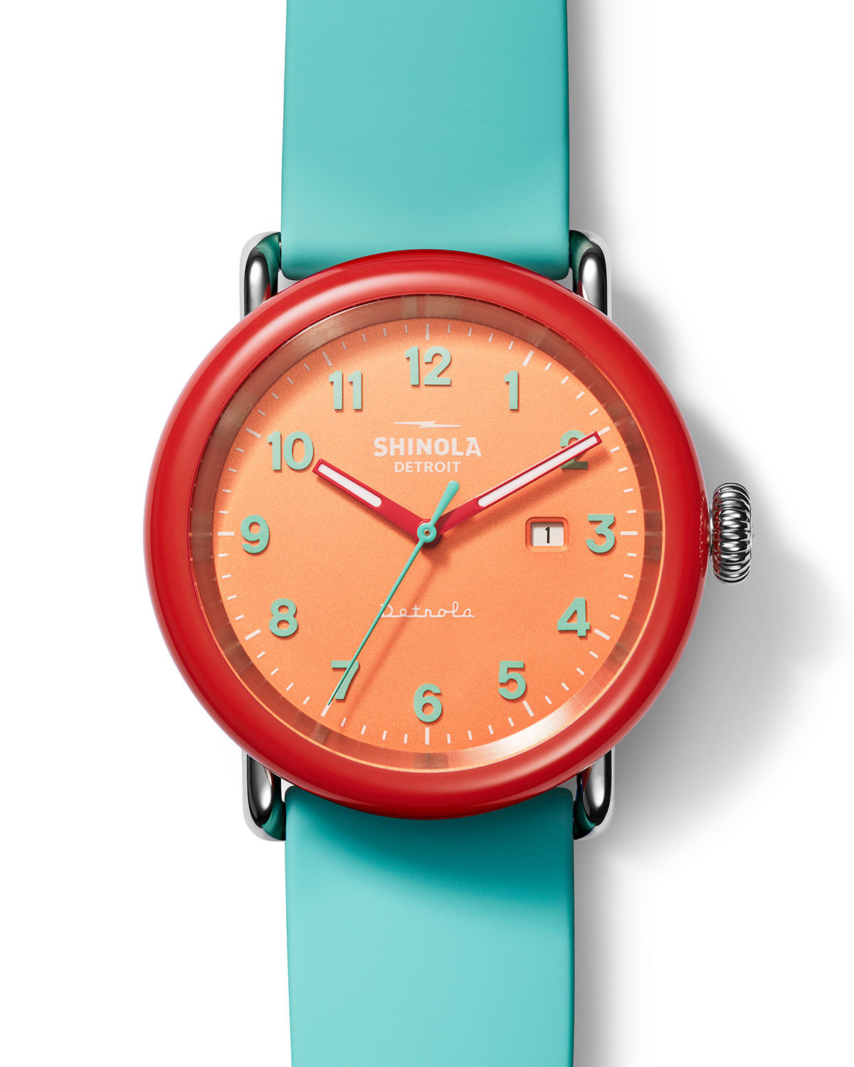 Detrola The Silly Putty 43mm Silicone Watch
