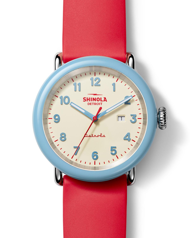 Detrola The SPF 43mm Silicone Watch