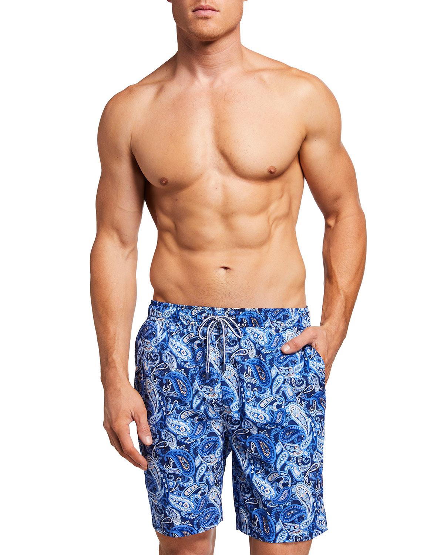 Men's Paisley Swim Shorts