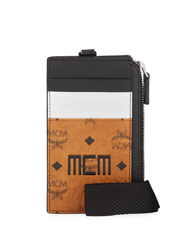 Men's Mixed Visetos Name Tag/Card Case