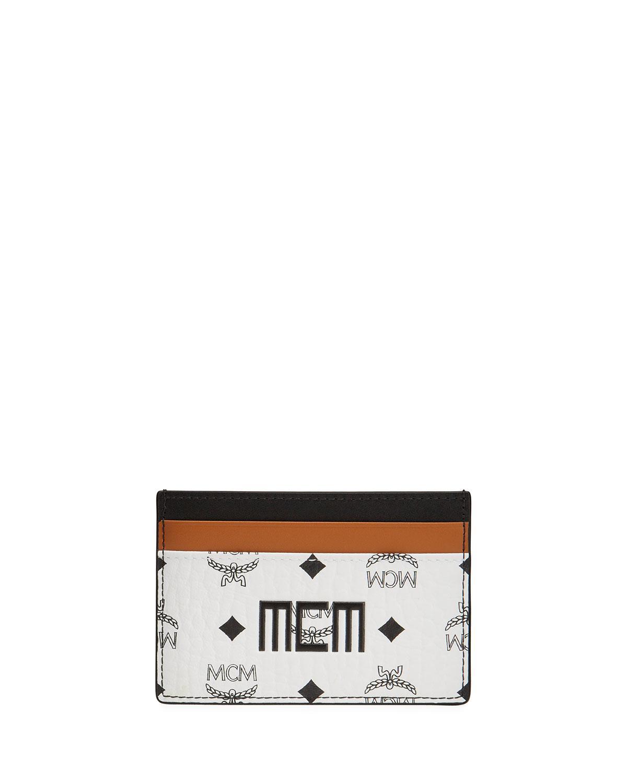 Men's Mixed Visetos Card Case