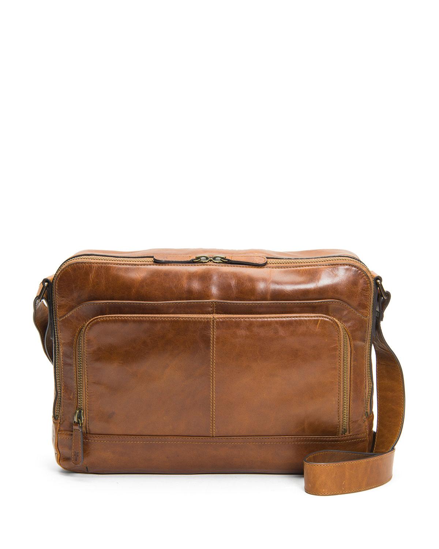 Men's Logan Zip Messenger Bag