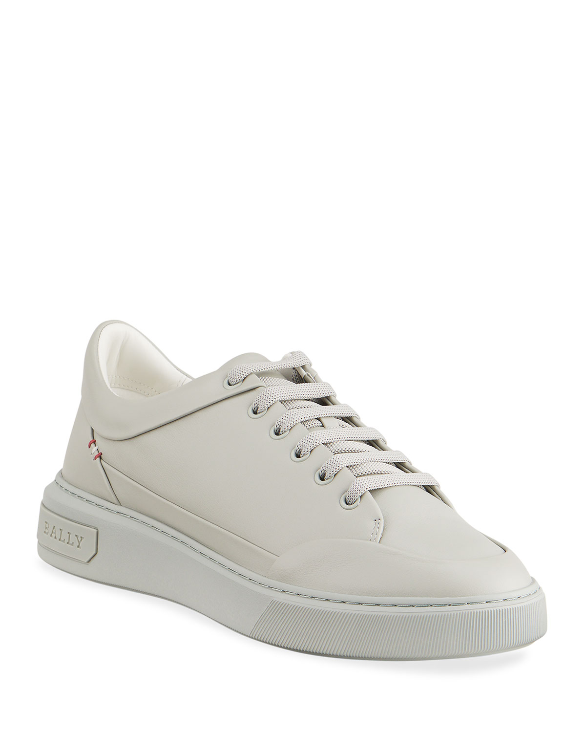 Bally MEN'S MELVIN 11 CALFSKIN LEATHER LOW-TOP SNEAKERS