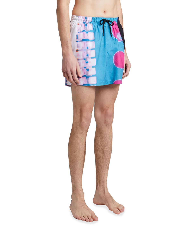 Men's Phibbs Blob-Print Swim Shorts