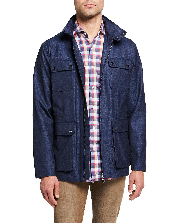 Men's Storm System Field Jacket w/ Hood