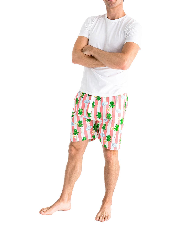 Men's x Gray Malin Beach-Print Sleep Shorts