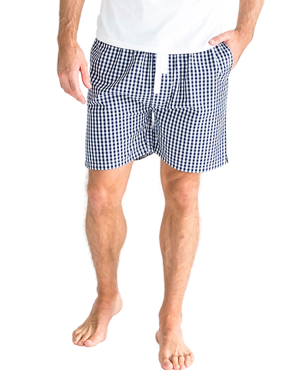 Men's Gingham Sleep Shorts