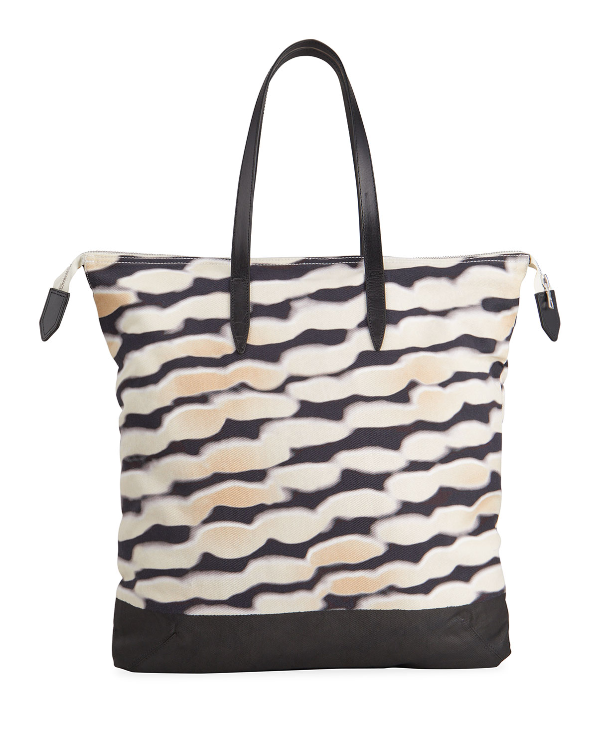 Dries Van Noten MEN'S PRINTED SHOPPING TOTE BAG