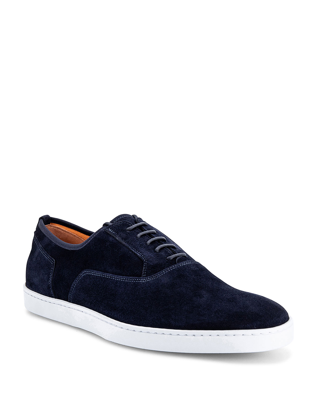 Men's Bodice Suede Oxford Sneakers
