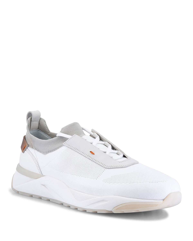 Men's Buenoo Stretch-Knit Trainer Sneakers