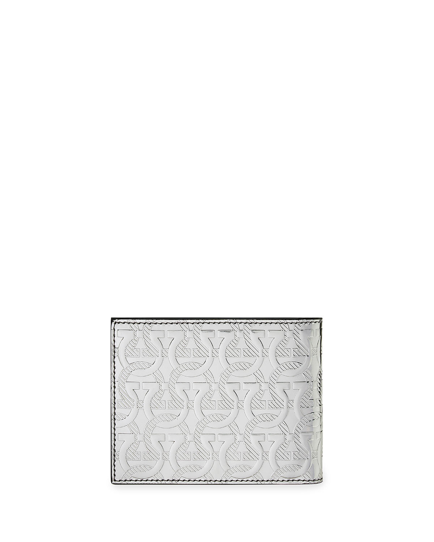 Men's Gancini-Embossed Leather Wallet