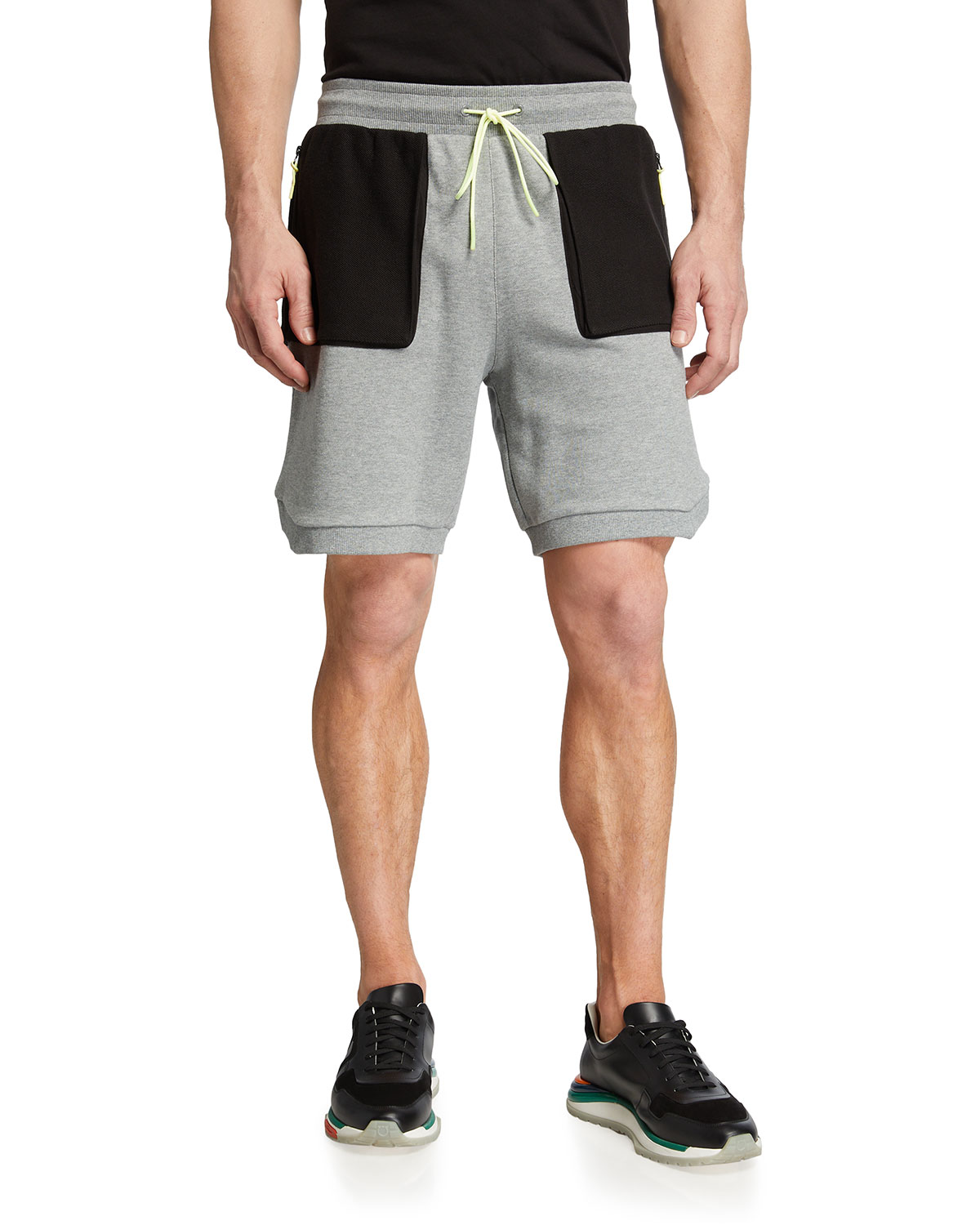 Puma MEN'S PLAYERS EDITION STANDBY COLORBLOCK SWEAT SHORTS