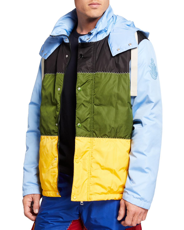 1 Moncler JW Anderson Borealis Colorblock Jacket