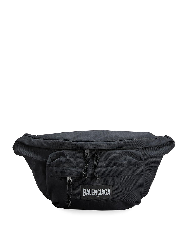 Balenciaga MEN'S OVERSIZED NYLON BELT BAG