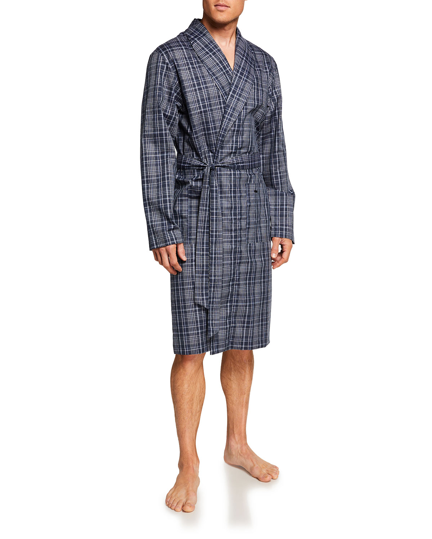 Men's Yanis Check Robe