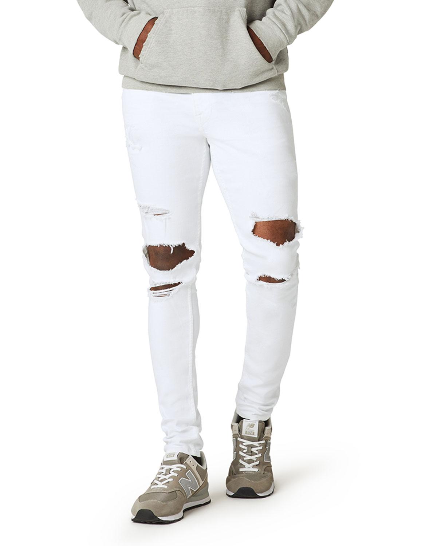 Men's Zack Skinny Knee-Rip Jeans