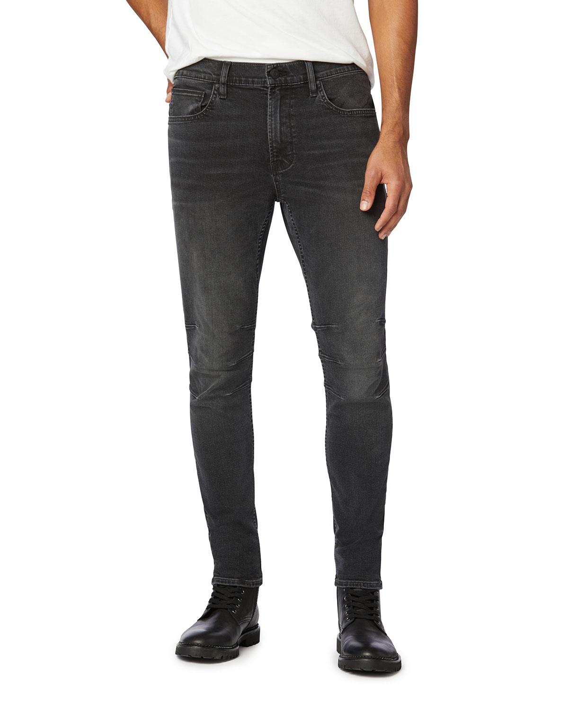 Men's Zack Extra-Slim Moto Jeans
