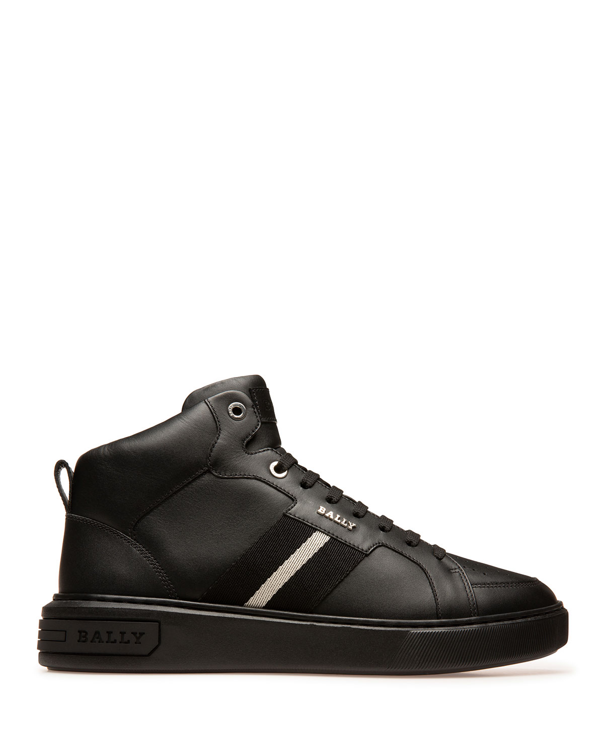Bally MEN'S MYLES TRAINSPOTTING LEATHER HIGH-TOP SNEAKERS