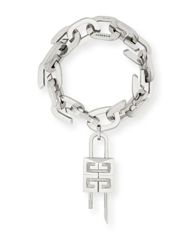 Men's G-Link Lock Medium Bracelet