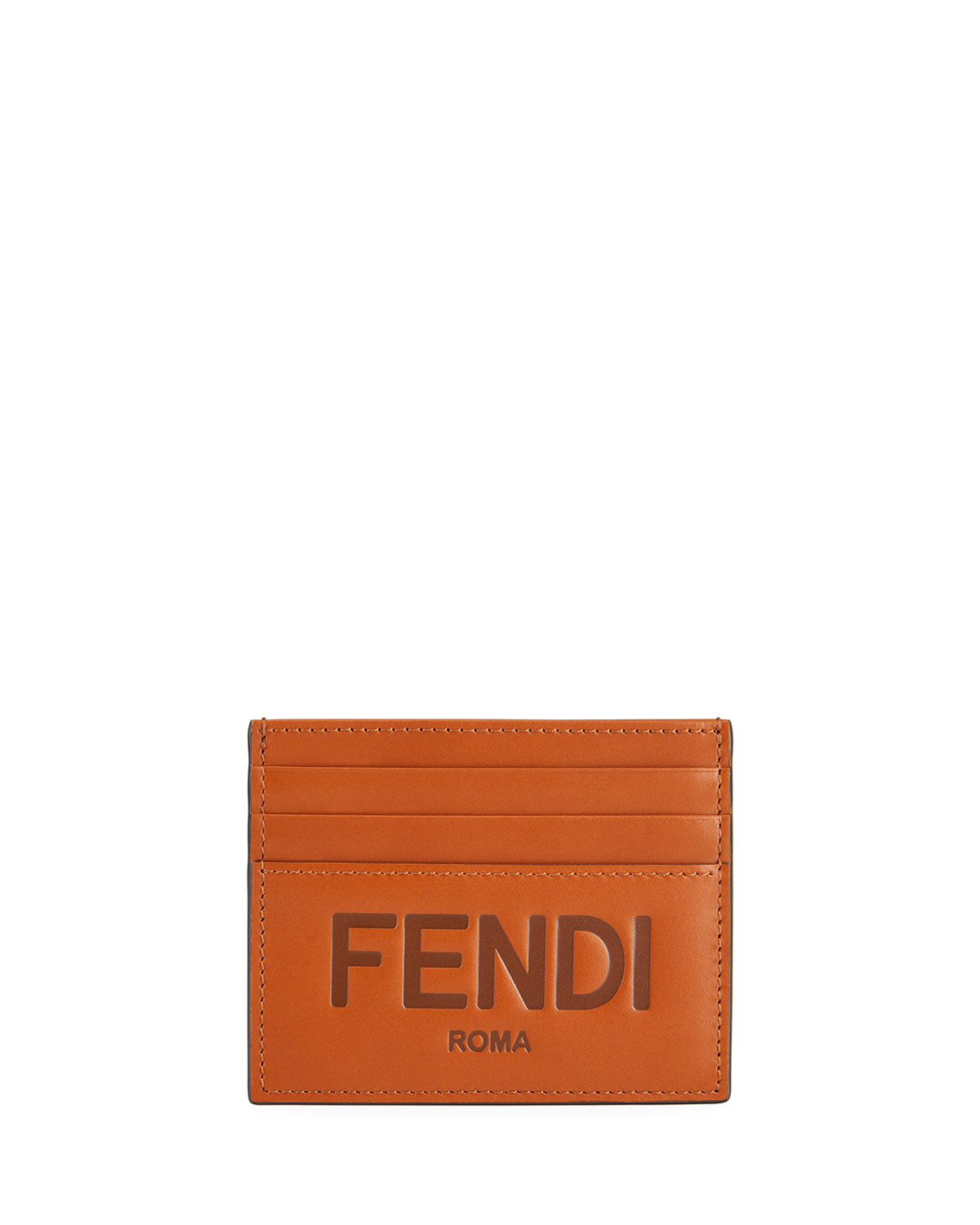 Men's Embossed Leather Card Case
