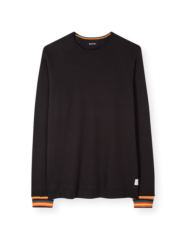 Men's Multi-Stripe Long-Sleeve T-Shirt