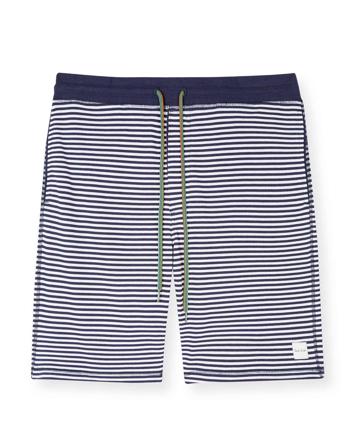 Paul Smith MEN'S STRIPED DRAWSTRING SHORTS