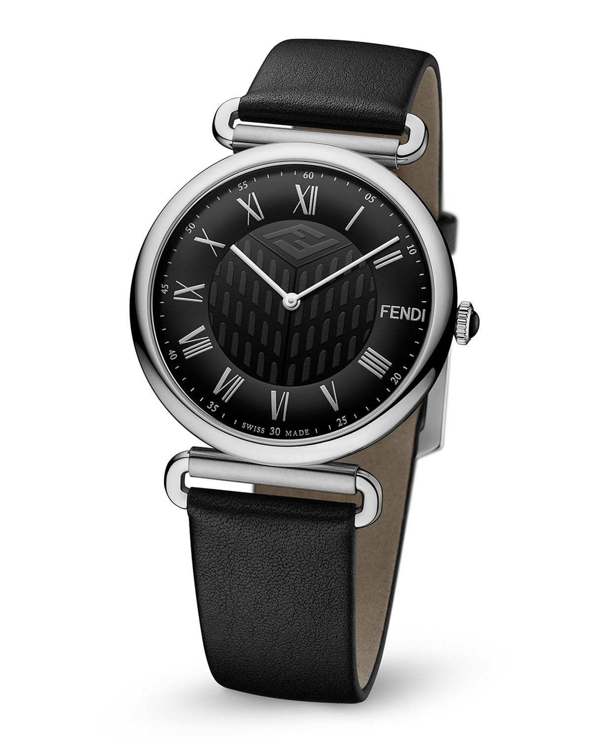 Men's 41mm Palazzo Watch w/ Leather Strap