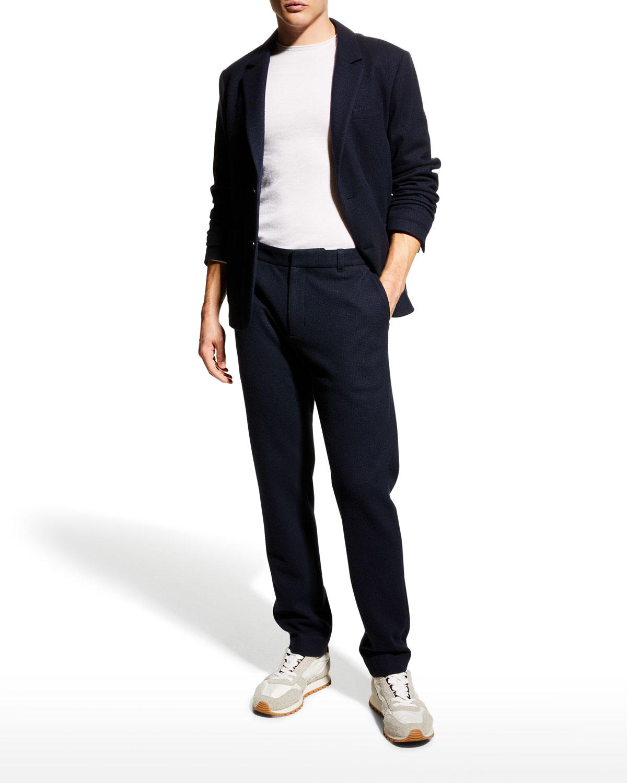 Men's Houndstooth Wool-Blend Blazer
