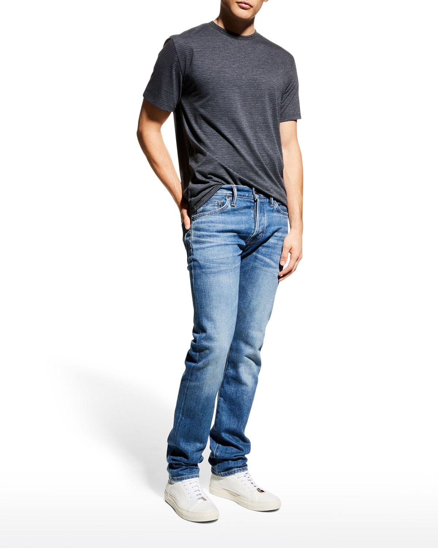 Men's Broken Stripe Short-Sleeve T-Shirt