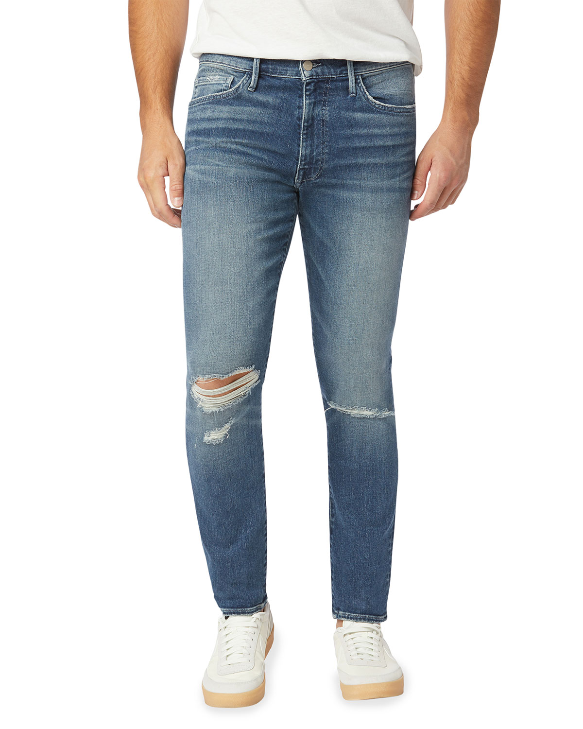 Men's Dean Soft Tapered Knee-Rip Jeans