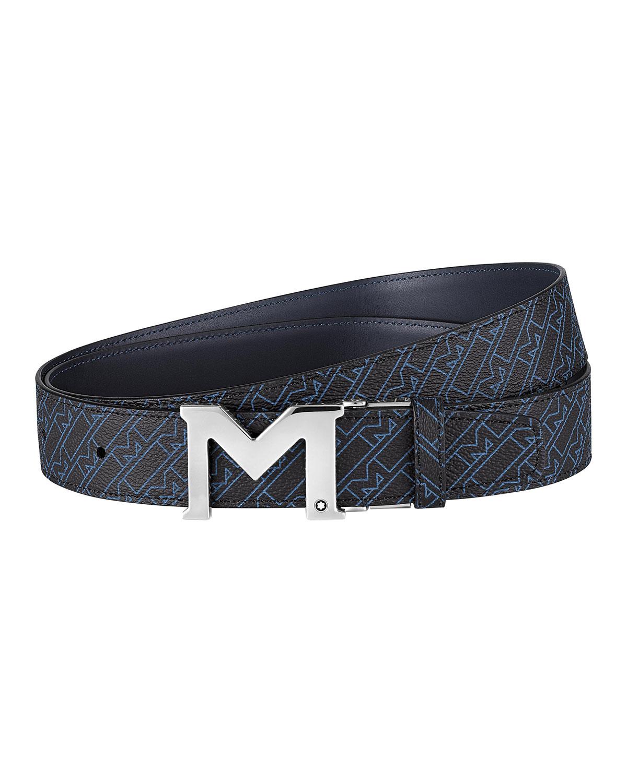 Men's Reversible M-Pattern Belt