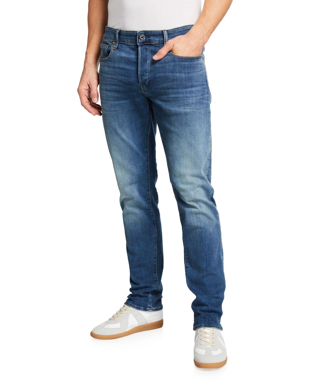 Men's 3301 Slim-Straight Stretch Jeans