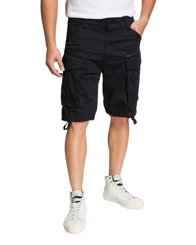 Men's Rovic Zip Relaxed Cargo Shorts
