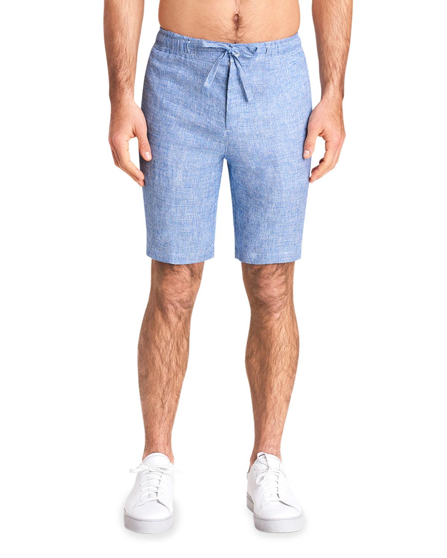 Men's Linen Drawstring Shorts