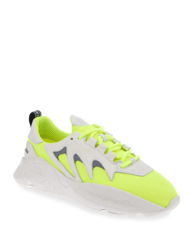 Men's Viper Neon Chunky Sneakers