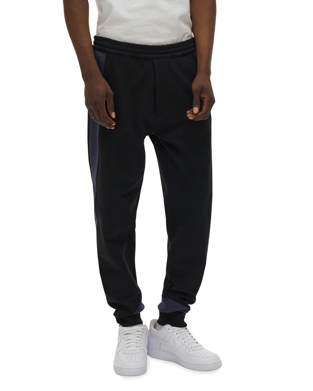Men's Colorblock Terry Sweatpants
