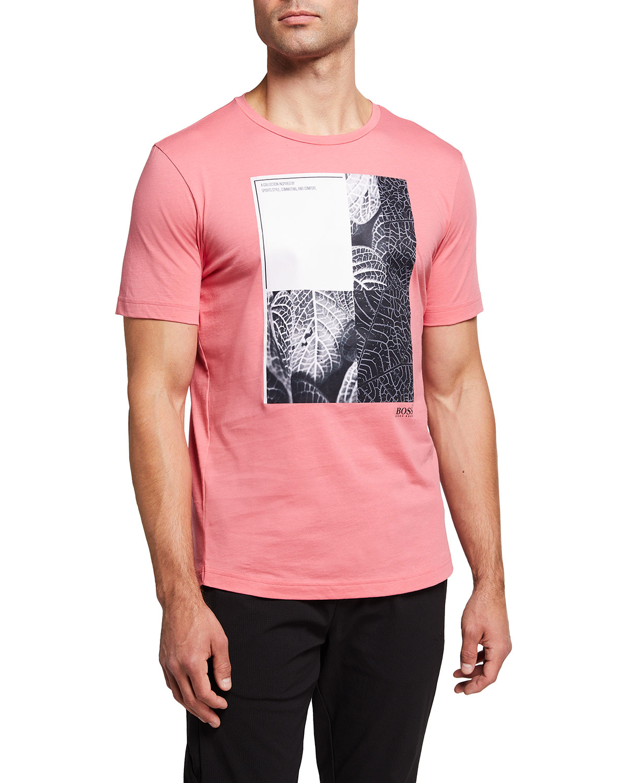 Men's Graphic Round-Neck T-Shirt
