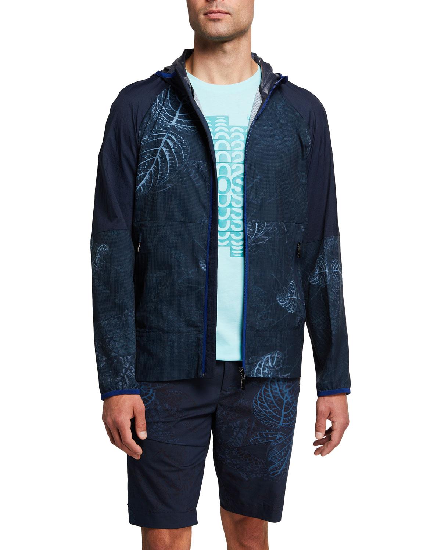 Men's Leaf Camo Wind-Resistant Jacket