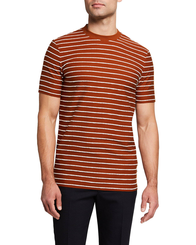 Men's Horizontal-Stripe T-Shirt