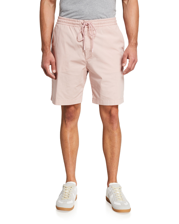 Men's Solid Drawstring Shorts