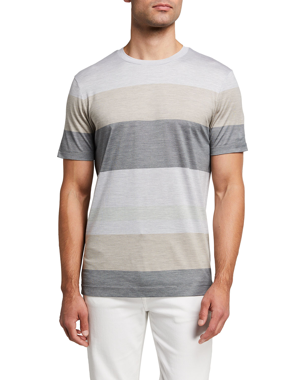 Men's Multi-Stripe T-Shirt