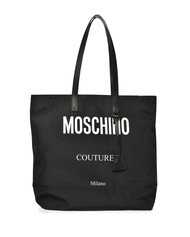 Men's Logo-Print Tote Bag