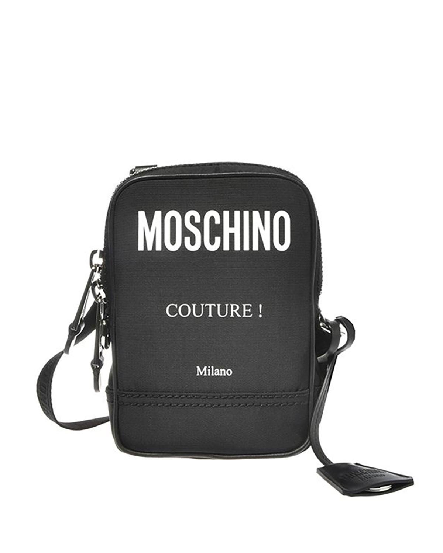 Men's Logo-Print Crossbody Shoulder Bag