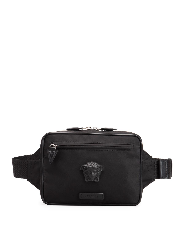 Men's Medusa Nylon Belt Bag