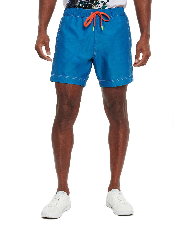 Men's Summers Solid Swim Shorts